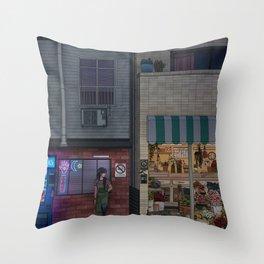 Nightshift Throw Pillow