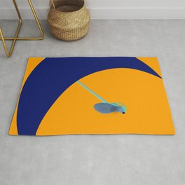 Flying Higher and Higher in May - shoes stories Rug