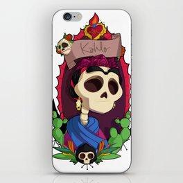 Rey Kahlo iPhone Skin