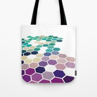 alabama Tote Bags featuring Alabama by Bakmann Art