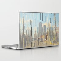 dallas Laptop & iPad Skins featuring Dallas by Calepotts