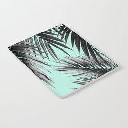 Palm Leaf Jungle Vibes #2 #tropical #decor #art #society6 Notebook