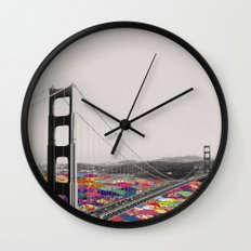It's in the Water Wall Clock