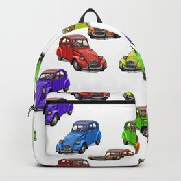 2cv pattern small Backpack