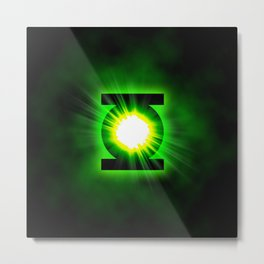 Green Lantern Power Of The Ring Metal Print