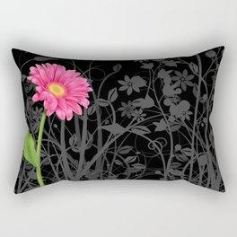 Gerbera Daisy #2 Rectangular Pillow