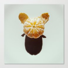 Clementine Shadow Character Canvas Print