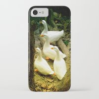 duck iPhone & iPod Cases featuring duck by gzm_guvenc