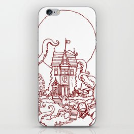 The Midnight Chateau Red Line iPhone Skin