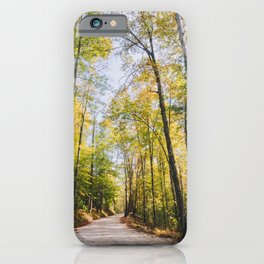 Forest Road - Muir Valley, Kentucky iPhone Case