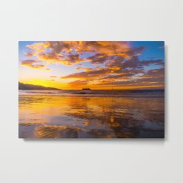 Sunset Playa Hermosa, Costa Rica Metal Print