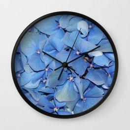 Hydangea Wall Clock