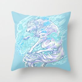 Frost Bite Throw Pillow
