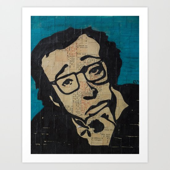 Tsch - Woody Allen  Art Print