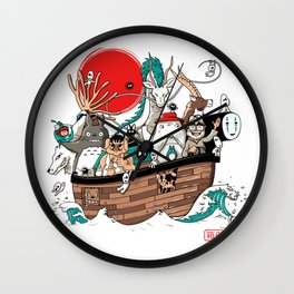Ark's Miyazaki (version2018) Wall Clock
