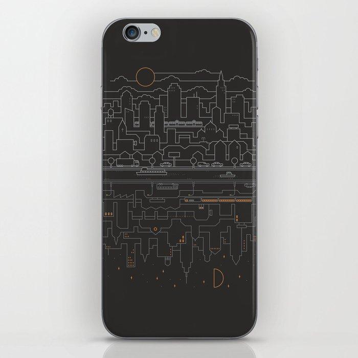 City 24 iPhone Skin