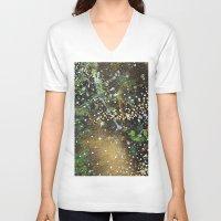 camo V-neck T-shirts featuring Camo by Art Book Of  Amanda