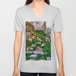 Walk Along These Steps... Unisex V-Neck