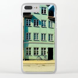 COPENHAGEN COLORS Clear iPhone Case
