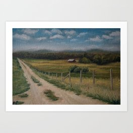British Columbia 68/100 Art Print