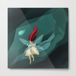 Child of Light Metal Print