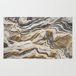 Marble layers Rug