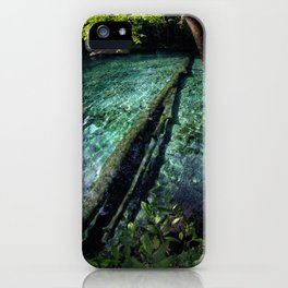 Ginnie Springs Fisheye iPhone Case