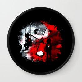Duo Alone Wall Clock