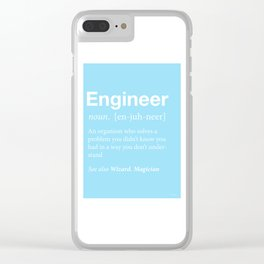 Engineer Clear iPhone Case