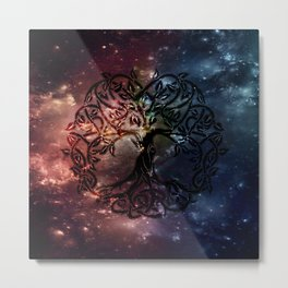 Viking Tree of life Metal Print