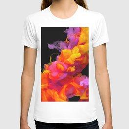 watercolor clots colorful  T-shirt