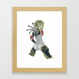Persona 3 - Aigis Framed Art Print