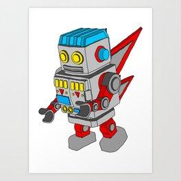 Dub-Bot Art Print