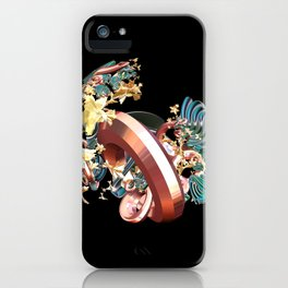 Ring & Flowers iPhone Case