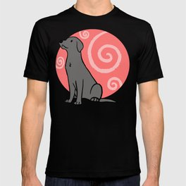 Silver Labrador Retriever T-shirt
