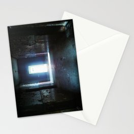 Fear - urbex - abandoned places - urban exploration  Stationery Cards