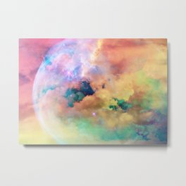 Star Child Metal Print
