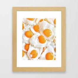 An Eggsellent Breakfast Framed Art Print
