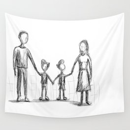Family - The Twins Wall Tapestry