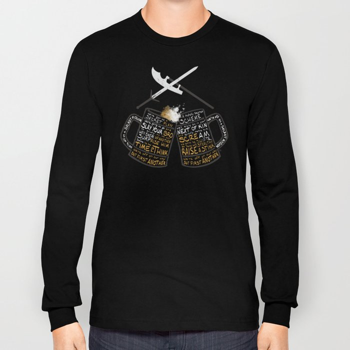 Galavant - Secret Mission Long Sleeve T-shirt