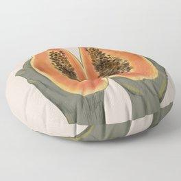 Papaya  Floor Pillow
