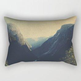 mountains VII Rectangular Pillow