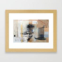 ATTN. Framed Art Print