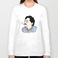 kurt rahn Long Sleeve T-shirts featuring Kurt by JT Illustrates