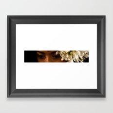Princess Eyes Framed Art Print