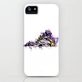 jmu dukes splatter iPhone Case