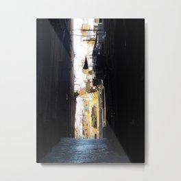 Napels Streets. Metal Print