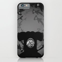 Hammerhead Shark - Silver Topaz iPhone Case