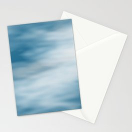 cloudy sky texture Stationery Cards