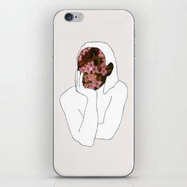 Girl waiting iPhone Skin